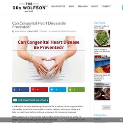 Can Congenital Heart Disease Be Prevented?