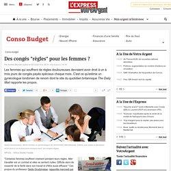 """Des congés """"règles"""" pour les femmes ? - LExpress.fr"""