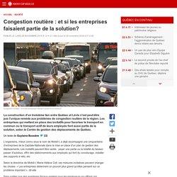Congestion routière : et si les entreprises faisaient partie de la solution?