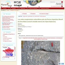 Les méta-conglomérats carbonifères près de Perosa Argentina, Massif de Dora Maira (massif cristallin interne des Alpes italiennes)