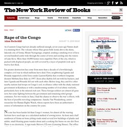 Rape of the Congo by Adam Hochschild