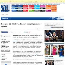 Congrès de l'AMF: Des budgets de maires de famille