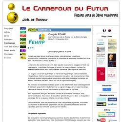 Congrès FEHAP - Site Officiel de Joël de Rosnay