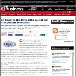 Le Congrès Big Data 2015 se clôt sur cinq projets innovants via @01business_fr