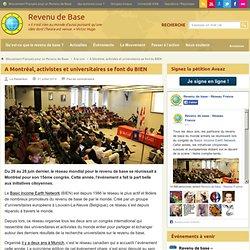 Le congrès mondial du revenu de base fait le plein d'initiatives