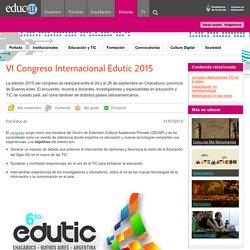 VI Congreso Internacional Edutic 2015