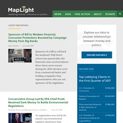 U.S. Congress Campaign Contributions and Voting Database | MAPLight.org - Money and Politics