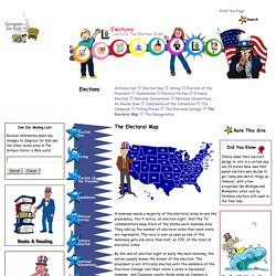 Congress for Kids: [Elections]: The Electoral Map