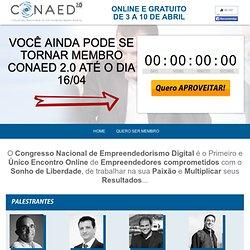 CONAED 2.0 - Congresso Nacional de Empreendedorismo Digital