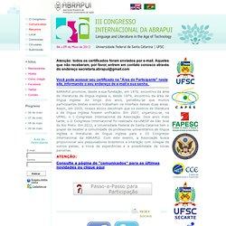 III Congresso Internacional da ABRAPUI
