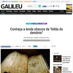 """Conheça a lenda obscura da """"bíblia do demônio"""" - Galileu"""