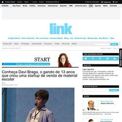 Conheça Davi Braga, o garoto de 13 anos que criou uma startup de venda de material escolar - Start