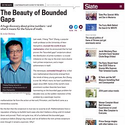 Yitang Zhang, twin primes conjecture: A huge discovery about prime numbers—and what it means for the future of math