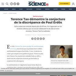 Terence Tao démontre la conjecture de la discrépance de Paul Erdös