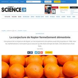 La conjecture de Kepler formellement démontrée
