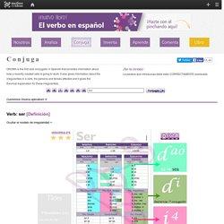 Conjugador de verbos en español - Conjugaciones de verbos - Conjugar verbo