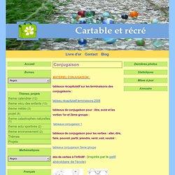 Conjugaison - Cartable et Récré