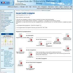 Jeux pour travailler la conjugaison - Circonscription de Saint Rémy