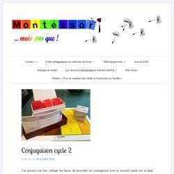 4) Conjugaison cycle 2