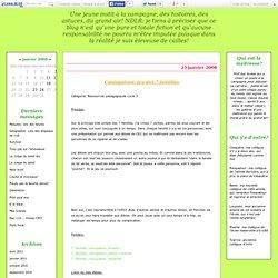 Conjugaison: jeu des 7 familles - Le tableau noir était vert!