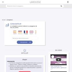 Conjugaison Larousse en ligne - Accueil