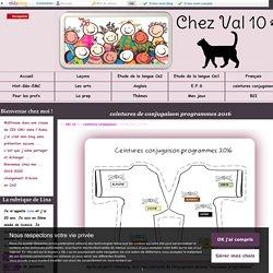 ceintures de conjugaison programmes 2016 - Chez Val 10