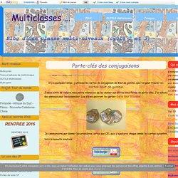 Porte-clés des conjugaisons - Multiclasses ...