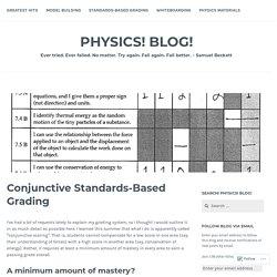 Conjunctive Standards-Based Grading – Physics! Blog!