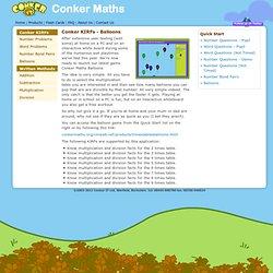 Conker Maths - Conker KIRFs - Balloons