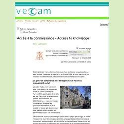 Accès à la connaissance - Access to knowledge
