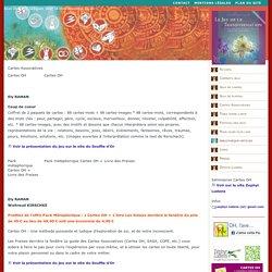 Guide des jeux et outils ludiques pour la connaissance de soi l Les éditions Le Souffle d'Or l Cartes Associatives