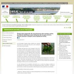 DREAL PAYS DE LA LOIRE 05/12/13 Etude inter-régionale de connaissance des marées vertes du littoral atlantique sous influence de