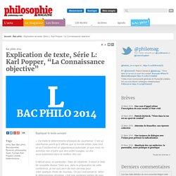 Bac Philo, philo, Bac, Bac philo, Baccalauréat, Épreuve, philosophie, Sujet, Corrigé, Karl Popper, Liberté, Déterminisme