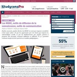 Les MOOC, outils de diffusion de la connaissance, outils de communication - E-learning / MOOC - Studyrama Pro