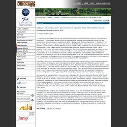 12 et 13/01 - Connaissance, gouvernance et objectifs de la ville durable en Asie