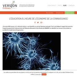 L'éducation à l'heure de l'économie de la connaissance