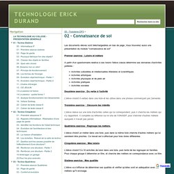 02 - Connaissance de soi - TECHNOLOGIE ERICK DURAND