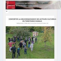 Conforter la (re)connaissance des acteurs culturels en territoires ruraux
