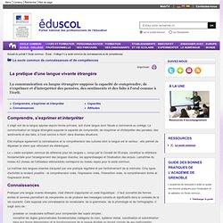 Les compétences du socle - Compétence 2 - ÉduSCOL