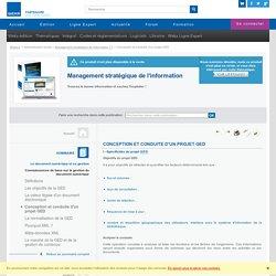 Connaissances de base sur la gestion du document numérique - Conception et conduite d'un projet GED