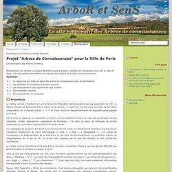 """Projet """"Arbres de Connaissances"""" pour la Ville de Paris - Informations sur les arbres de connaissances"""