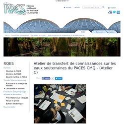 Atelier de transfert de connaissances sur les eaux souterraines du PACES CMQ - (Atelier C)