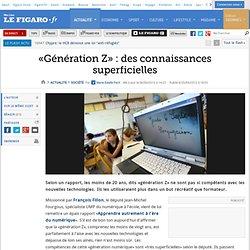 France : «Génération Z» : des connaissances superficielles - Aurora