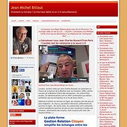 vous Jean Charles Bossard from Paris ? Localeo met les communes à la sauce 2.0
