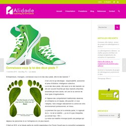 Connaissez-vous la loi des deux pieds ? – Alidade : Conseil, Coaching, Formation