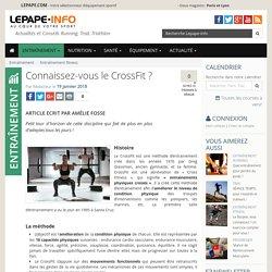 Connaissez-vous le CrossFit ?