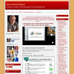Unow : Concevoir vos MOOC (Jérémie Sicsic & Yannick Petit from Paris)
