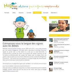 Langue des signes avec les bébés