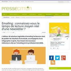 Connaissez-vous le temps de lecture moyen réel des newsletters par email ?
