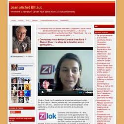 vous Marion Carette from Paris ? Zilok et Zivac : le eBay de la location entre particuliers